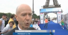 Le triathlon de Paris édition 2012 !