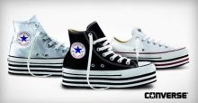 La collection Converse All Star 2013 avec semelle compensée