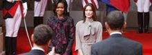 Michelle Obama vs Carla Bruni-Sarkozy