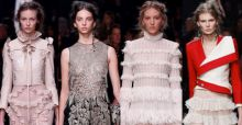 Paris Fashion Week 2015, Alexander Mcqueen: romantisme victorien dans un style contemporain