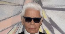 Karl Lagerfeld s'expose aux Galeries Lafayette
