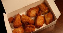 Composition des nuggets de poulet