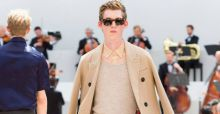 Burberry pour la London Collections Men: mode androgyne à l'anglaise