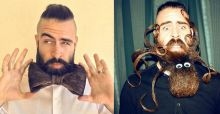 Isaiah Webb alias Mr Incredibeard réalise des sculptures sur barbe insolites