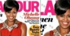Michelle Obama en couverture de Glamour