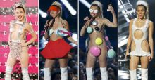 MTV Video Music Awards 2015, Miley Cyrus plus nue que jamais reigne sur scène (PHOTOS)