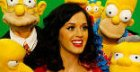 Katy Perry chez les Simpson